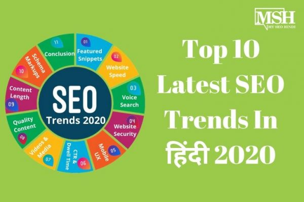 latest seo trends in hindi 2020