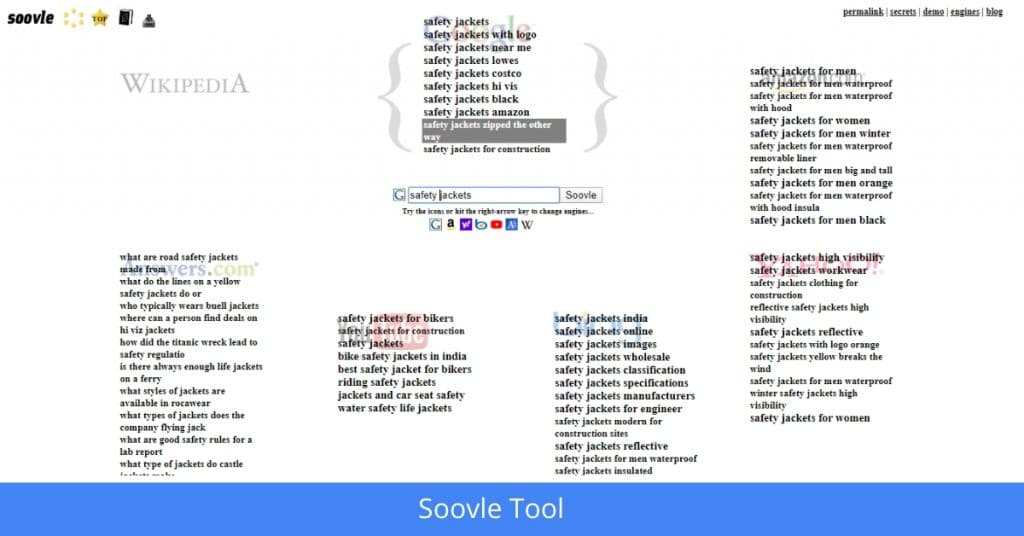 Soovle SEO Tools in hindi